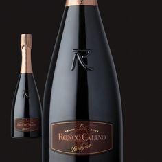 "@roncocalino's photo: ""Rosé ""Radijan"" #franciacorta  #rosé #vino #wine #pinot #noir #pinotnoir #italia #italy #lombardia #instaitalia #bottiglia #bottle #pink"""