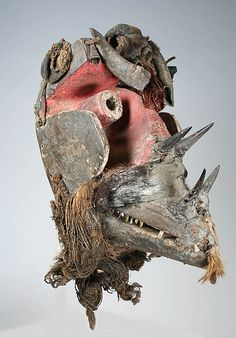 Mask [Wee peoples culture]. Côte d'Ivoire or Liberia, Bandama River region, 19th-mid-20th century.