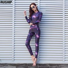 9c1e527c0cd49a SEAC Tops 3mm Elastic Neoprene Wetsuit Women Swimsuit Equipent Diving Scuba  Swimming Surfing Spearfishing Suit Triathlon