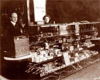 First Walgreen's,  located in Chicago, IL 1908