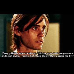 Mr Nobody. That face! When she said this to him my heart broke. how could she do that to him :(