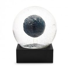 Crystal Moon Snow Globe.