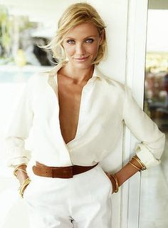 Cameron Diaz says can sniff out someone fake.