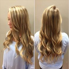 Stylist Autumn at our Woodbury location is behind this sun-kissed balayage application!