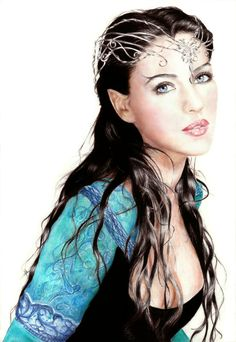 The Lady Luthien is well known to both Arwen and Avalain. Her tale is told all over the Elvish community.