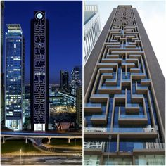 senrimacom:  This building looks like a giant game of Pacman just waiting to be played! (xpost from r/evilbuildings) http://ift.tt/1TUWmEO via http://ift.tt/1SgW7RX   #architecture #迷路 #design #art #packmanほぉ...これは面白い!上からパチンコ球、転がしたい^^;。