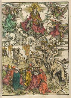 Illustration from Apocalipsis cu[m] figuris, Nuremburg: 1498, by Albrecht Dürer (1471-1528)