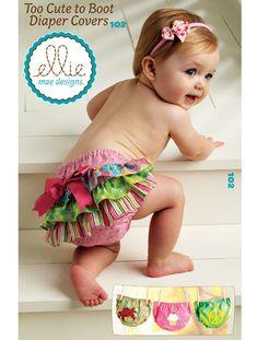 Too Cute To Boot Diaper Covers