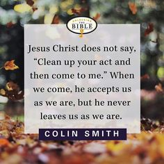 Colin Smith - come as you are