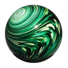 Mark Matthews: Green Sploosh Marble