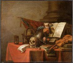 Verdoel Adriaen (vers 1620-après 1695) - Vanité - Peinture