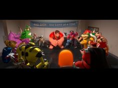 Wreck-It Ralph Teaser Trailer from Disney: a bad guy in video games decides to arcade jump so he can become the good guy finally, but he unleashes a deadly army when he does it.