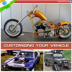 Customizing Your Vehicle - Custom Cars and Bikes