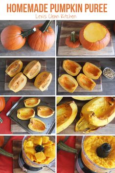Step by Step: Homemade Pumpkin Purée & Roasted Pumpkin Seeds