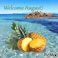 Coffee Pictures, Coffee Pics, Welcome August, Seasons Months, Hello August, Flowers Gif, New Month, Countryside, Summertime