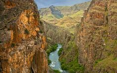 The Imnaha River carved this breathtaking gorge in Hell's Canyon National Recreation Area.