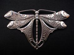 Tiffany Dragonfly Brooch by LelongDesigns on Etsy