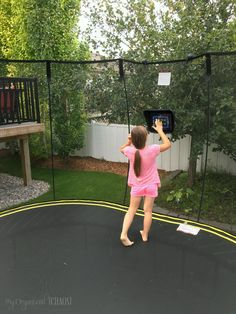 Take Gaming Outside and Make it Active with Springfree Trampoline tgoma, a review of the outdoor interactive digital gaming & fitness system for…