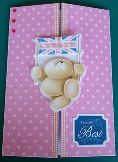 Handmade C5 3D Gatefold Greeting Card  You're The by BavsCrafts