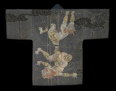 Kimono: A Modern History at The Metropolitan Museum of Art, September 2014 – early January 2015 Kimono Japan, Japanese Kimono, Costumes Japan, Kabuki Costume, Japanese Outfits, Japanese Clothing, Japanese Embroidery, Embroidery Ideas, Kimono Design