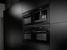 Black velvet keukenapparatuur van Küppersbusch