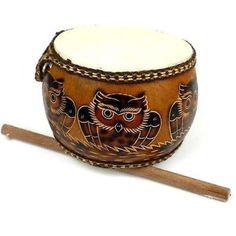 Jamtown World Instruments Owl's Nest Drum (Fair Trade)