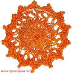 hairpin lace horquilla circular