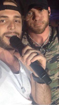 BG and Thomas Rhett! Sexy men!!