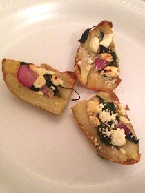 Broke and Bougie: Party Food: The Potato Skin 4 ways