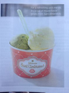 I want to try their Taglio al limone(lemon sorbet doused with prosecco). 1000 Madison Ave.