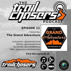 Ep 12 is live. 12 of the Grand Adventure segments from @jeeptalkshow Thank you Tony Josh & Tammy for all of your support!  #jeep #trailchasers #ichasetrails #chaseyouradventure #adventure #offroad #offroading #jeepnation #jeepbeef #jeeplife #zjnation #zjmafia #grandcrew #jeepmafia #grandcherokee #cherokee #wrangler #renegade #wj #zj #xj #jk #tj #motorsport #outdoors #trail #dirt #interview #podcast
