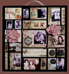 Mama - what a superb idea for a momento mori of a loved one