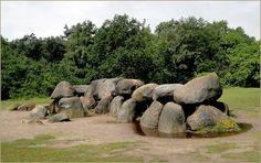 Hunebedden in Drenthe, the Netherlands   http://mw2.google.com