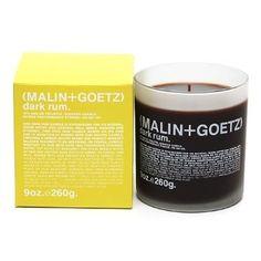 Amazon.com: MALIN+GOETZ Candle, 60 Hours, Dark Rum 9 oz (260 g): Beauty