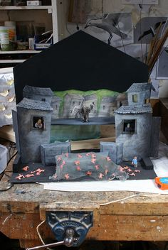 The Model Set by Little Angel Theatre