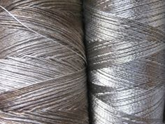 Conductive threads by Plusea, via Flickr