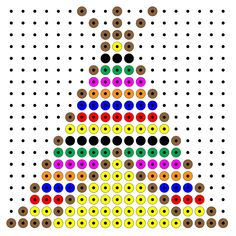 Indianen Thanksgiving Graphics, Thanksgiving Preschool, Indian Diy, Indian Crafts, Native American Wisdom, Native American Beading, Perler Beads, Fuse Beads, Cross Stitch Patterns