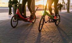 Ballade en vélo élliptique