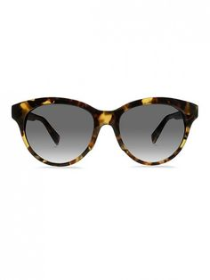 Warby Parker Piper Sunglasses in woodland tortoise