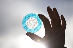 Blue circle to mark World Diabetes Day 2012.   http://www.idf.org/bluecircle