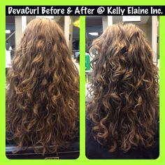 DevaCurl hair cuts, and the full line of DevaCurl products at Kelly Elaine inc. a curly hair salon and such Pittsburgh PA 15235 Amazing Before and After photos! All done by a fully advanced trained DevaCurl Stylist. Layered Curly Hair, Curly Hair Cuts, Long Wavy Hair, Curly Hair Styles, Curly Hair Salon, Perm Hair, Hair Perms, Permed Hairstyles, Pretty Hairstyles