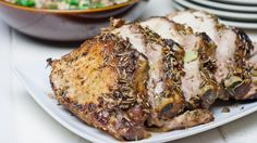 roasted pork with rosemary and garlic