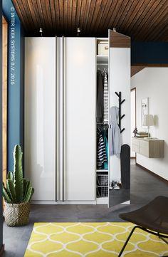 Ne manquez plus de places. Découvrez nos solutions de rangements PAX de tous les formats, tous les styles et toutes les couleurs. #IKEABE   There is enough storage space. Discover our PAX storage solutions in all sizes, styles and colors. #IKEABE