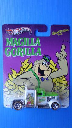 2013 Hot Wheels Magilla Gorilla Convoy Custom Real Riders Hot !!! Model Truck Kits, Hot Wheels Display, Nostalgic Candy, Toys Land, Matchbox Cars, Hanna Barbera, Hot Wheels Cars, Vintage Toys, Cool Cars
