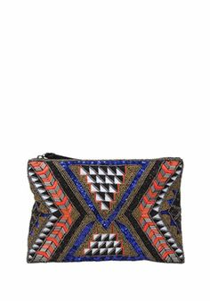 F&F Bead Embellished Pouch - £13 #FeelTheHeat