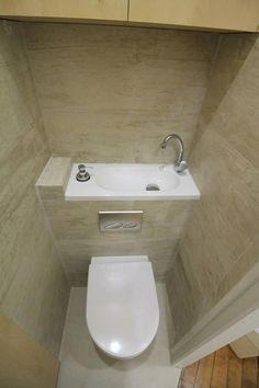 I love this beautiful toilet ideas Tiny House Bathroom, Bathroom Toilets, Bathroom Design Small, Dream Bathrooms, Bathroom Interior Design, Amazing Bathrooms, Bathroom Under Stairs, Downstairs Bathroom, Understairs Toilet