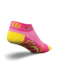 "Socks SockGuy Classic Women 2/"" Bad Kitty PURPLE S//M Cycling//Running"
