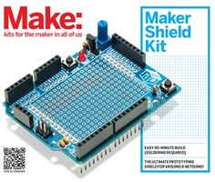 Maker Shield Kit. Unlike other prototyping shields on the market, the MakerShield allows you to create the circuits the way you want, and easily make as many changes as needed without having to solder.