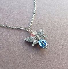 Fairy Dancer Butterfly Winged Goddess Pendant by Rayvenwoodmanor