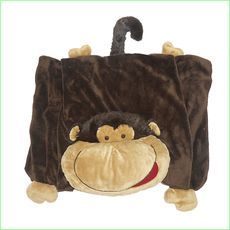 Kids Monkey Animal Blankets - Green Ant Toys Online Toy Store http://www.greenanttoys.com.au/shop-online/soft-and-plush-toys/animal-blankets/monkey/ #sale #clearance